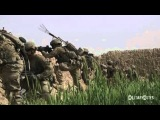 COMBAT FOOTAGE Soldiers attack Taliban positions during patrol