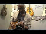 Framus @ NAMM 2013 - Eddie Turner with the Framus Strato Delux