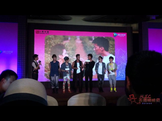[120627] M.I.C Aero interview part @ It's Becasue of Love Conference