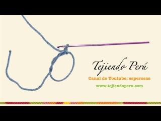 Основы  вязания  крючком- набор петель для  кольца.