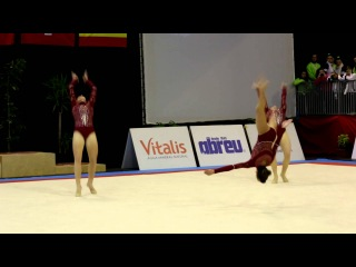 FIG Acro World Cup 2013 Maia - POR W3 Sen Balance - Mariana, Rita and Catarina