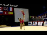 FIG Acro World Cup 2013 Maia - POR W3 Sen Dynamic - Leonor, Sonia and Marta