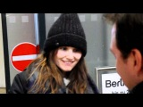 Virginie Ledoyen Tegel Airport Berlinale 2012