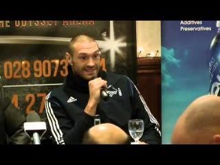 Tyson Fury vs Kevin Johnson press conference