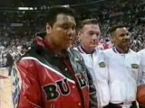 Muhammad Ali & MJ, two greatest for Chicago Bulls.1997 final Game 1