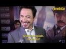 Robert Downey Jr. na premiére de Sherlock Holmes 2, no Rio de Janeiro