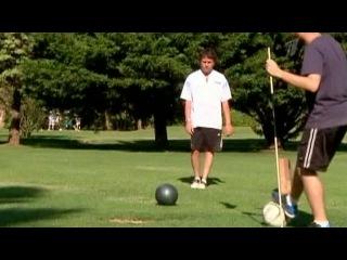 Новый вид спорта - футгольф - активно осваивают в Аргентине - Первый канал