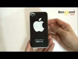 iPhone 4 4S New Sense Flash Night Light LED Change Color Hard Case Skin Cover