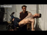 Male Models Backstage at Vivienne Westwood Fall/Winter 2013-14 | Milan Mens Fashion Week |FashionTV