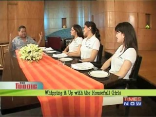 Whipping it up with Housefull girls â€