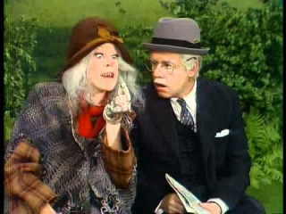 THE CAROL BURNETT SHOW -- Steve Martin and Betty White ( 11th Season )