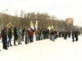 В Москве на акцию памяти Егора Свиридова пришли десятки людей