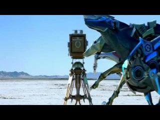 Гонки собак-роботов в пустыне