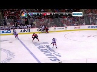 Dainius Zubrus Hit Anton Stralman in the first period ECF GAME 3 2012