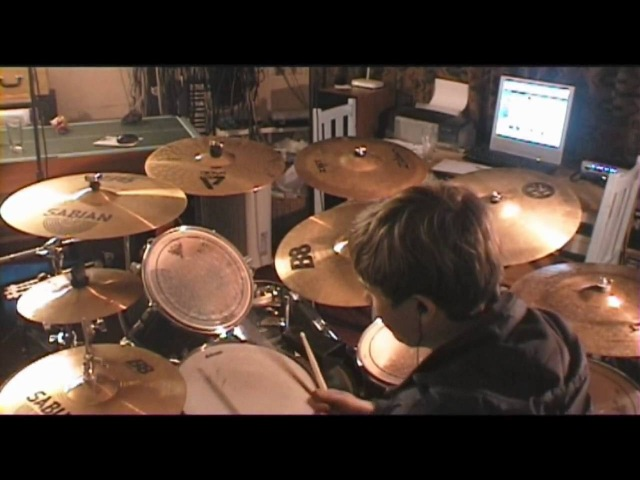 Coldplay Shiver Drum Cover