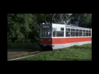 Музейные трамваи в сериале