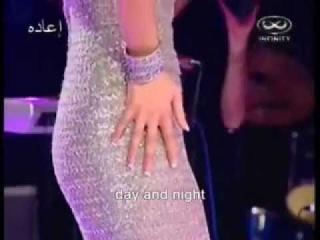 ★ Haifa Wehbe Habibi Ya Ayni English Subtitles Live Infinity حبيبي يا ع&