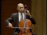 Janos Starker - Bach Cello Suite 3 VI. Gigue