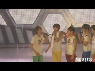 120722 Onew imitating the time he ate his cellphone & Precious OT5 Moments