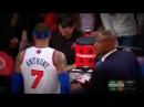 Carmelo Anthony FUCK YOU to Kevin Garnett | Celtics vs Knicks | JAN 7 2013