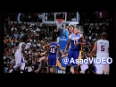 Andrew Bynum laughs at Pau Gasol getting dunked on by Blake Griffin