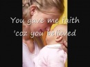 Because You Loved Me, Celine Dion with Lyrics - Dedication to Mothers