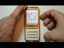 Обзор Nokia C3-01 Gold Edition Touch and Type review
