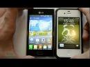 Обзор LG Optimus L5 (E612, E600) (review)