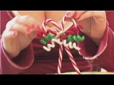 Christmas Crafts : How to Make Candy Cane Christmas Tree Ornaments