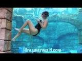 Professional Free Diver Mermaid Melissa -Original Underwater tricks Bubble Heart 2/17/11