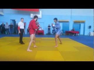 Хасанов Рустам Бои без правил..финал боевое самбо 82кг