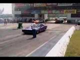 68 Dodge Charger Top Sportsman Burnout