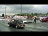 S2000 Powered Fiat vs T-Rex