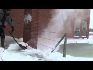 Электрический снегоуборщик Техас Snow Blower ST1300.mp4