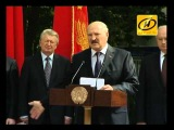 Президент посетил новое здание ФМО БГУ, Август 2012