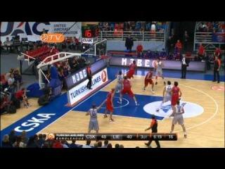 Highlights: CSKA Moscow - Lietuvos Rytas Vilnius