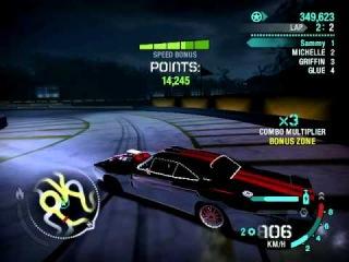 Мой дрифт на Dodge Charger R/T в Need For Speed: Carbon