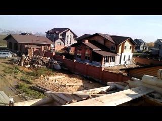 Срубы Дома Бани беседки из дерева Нижний Тагил 2012