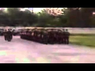 Ruskie soldaty poiut po gruzinski i krichat ,,gaumarjos'' - slava gruzii ;)