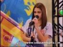 Violetta canta Habla si puedes en el Restó-Band