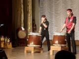 Kyrgyz Taiko - Japanese drums - Ooedodaiko club in Kyrgyzstan