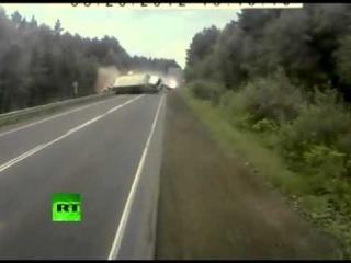 Крупнейшая Авария грузовиков под Челябинском!!!