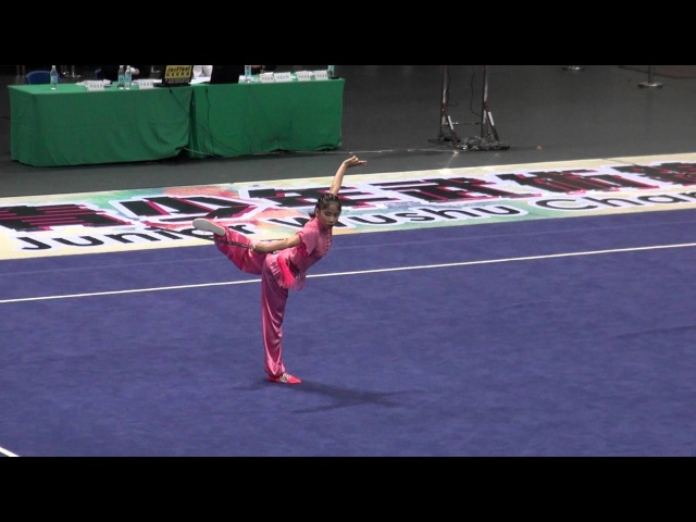 2012 World Junior Wushu Champ JSF B THALIA LOVITA INA 9 29 2