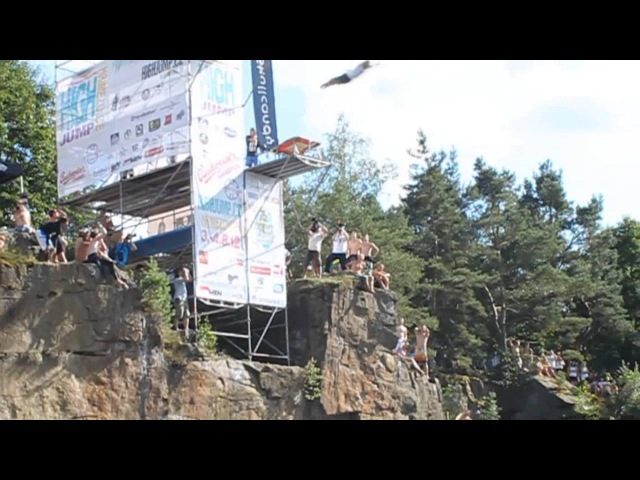 Blob Splashdiving vs. Cliffdiving Highdiving tour part2 *HD*