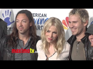 Natasha Bedingfield and Lifehouse 2nd Annual American Giving Awards ARRIVALS