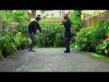Bboy Born &amp Jason Rocking session in the garden