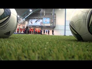 Тренировка женской сборной России в Финляндии