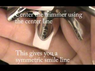 Инструменты для создания френча на нарощенных ногтях