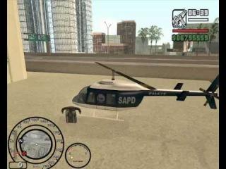 Gdzie Można Znaleść Helikopter Policyjny W GTA SanAndreas