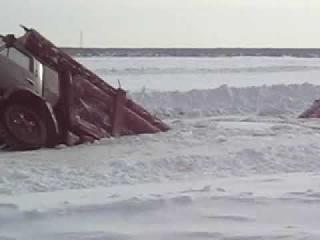 Дороги Севера КамАЗ Под Льдом